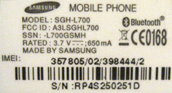how to know the imei number of samsung mobile