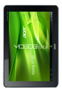 ACER ICONIA A700 specs