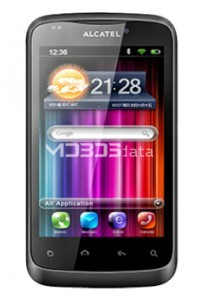 ALCATEL ONE TOUCH 978 specs