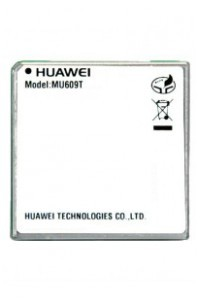 HUAWEI MU609T specs