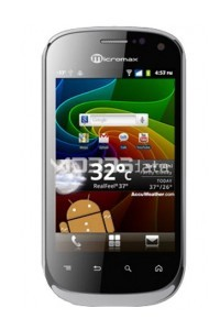 MICROMAX A75 specs