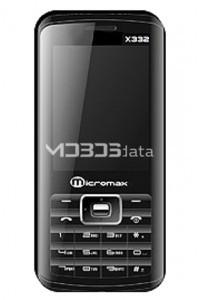 MICROMAX X332 specs