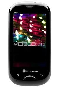 MICROMAX X640 specs