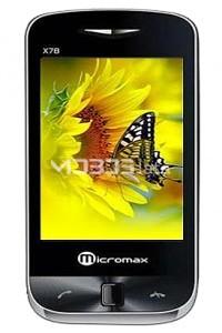 MICROMAX X78 specs