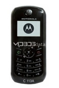 MOTOROLA C113A specs