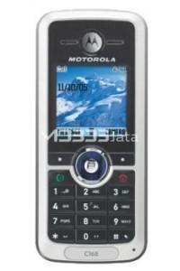 MOTOROLA C168 specs