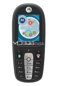 MOTOROLA E378I specs