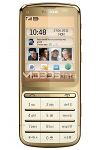 NOKIA C3-01 GOLD EDITION specs