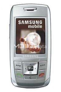 SAMSUNG SGH-E250I specs
