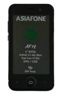 ASIAFONE AF12 specs