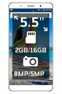 MAXWEST ASTRO X55 LTE specs